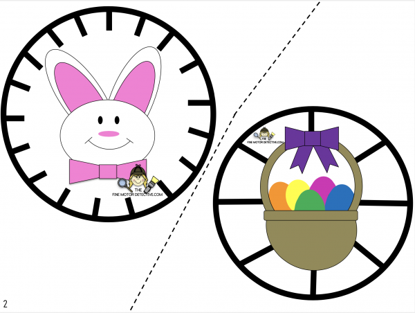 Easter Cutting Printables