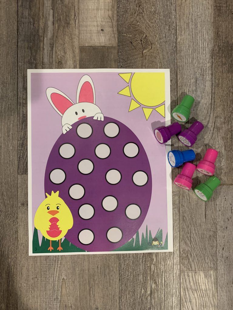 Easter Stamp Activity