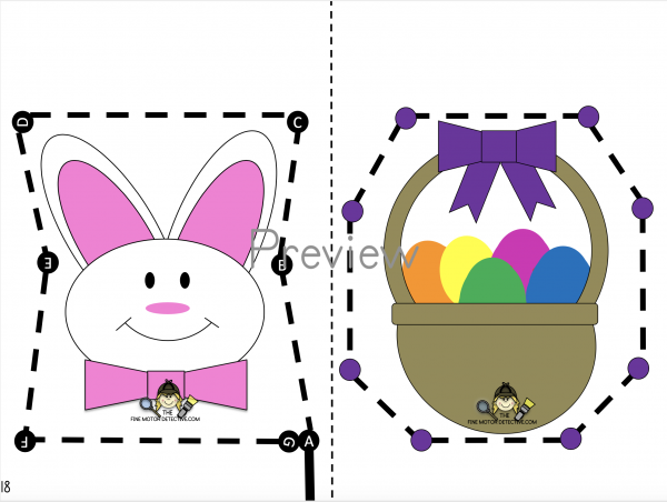 Easter Cutting Printable