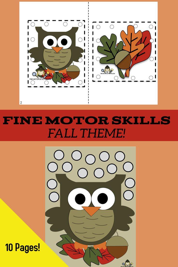 Fall Fine Motor