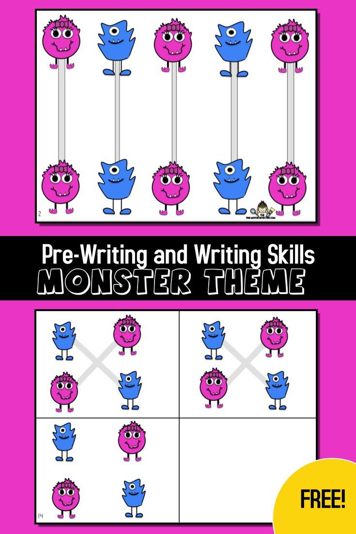 Monster Writing Activities